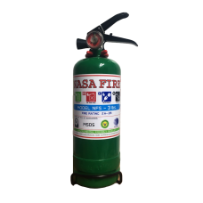 เครื่องดับเพลิง สูตรน้ำ NASA FIRE ชนิดถังเขียว (Low Pressure Water Mist) ขนาด 3 ปอนด์ - RA0822
