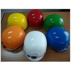 หมวกนิรภัย Bump Cap สีขาว,แดง,เขียว,เหลือง,น้ำเงิน