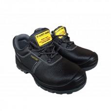 รองเท้านิรภัย SF SAFETY SHOES รุ่น TW8088 แบบหุ้มส้น ผูกเชือก สีดำ (เบอร์ 40)