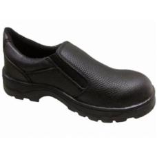 รองเท้านิรภัย SF SAFETY SHOES รุ่น SF-R102 แบบสวมสีดำ