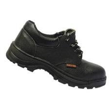 รองเท้านิรภัย SF SAFETY SHOES รุ่น SF-R101 แบบหุ้มส้นผูกเชือกสีดำ