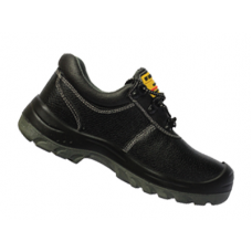 รองเท้านิรภัย SF SAFETY SHOES รุ่น TW8088 แบบหุ้มส้น ผูกเชือก สีดำ