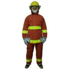 ชุดดับเพลิง NOMEX ใช้ดับเพลิงภายในอาคาร