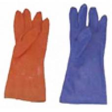 ถุงมือยาง RUBBER PVC
