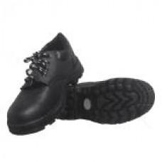 รองเท้านิรภัย SF SAFETY SHOES รุ่น SF-R101 แบบหุ้มส้นผูกเชือกสีดำ (เบอร์ 40)